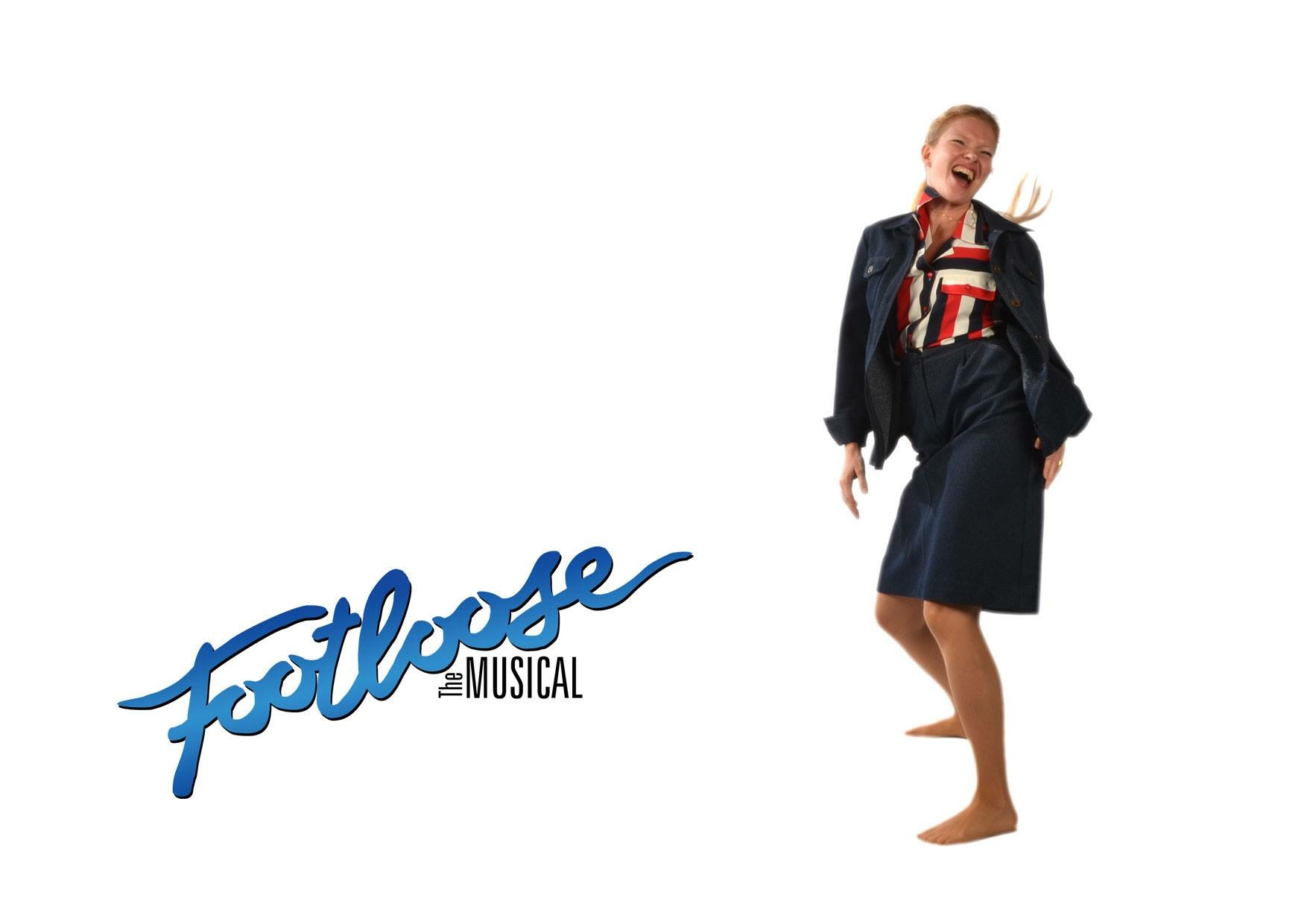 Dansende Ethel fra musicalen Footloose.